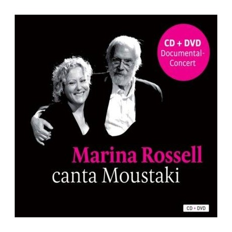 CD Marina Rossell canta a Moustaki + DVD