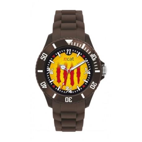 Rellotge dona senyera negre