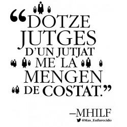 Samarreta 12 jutges d'un jutjat me la mengen de costat