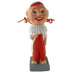 Figura de goma La nena que tot ho sap