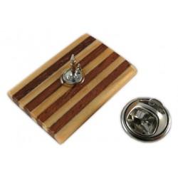 Pin senyera de fusta