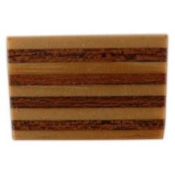 Agulla amb senyera de fusta
