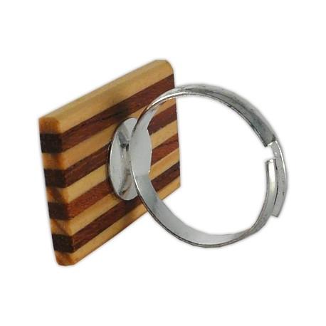 Anell senyera de fusta