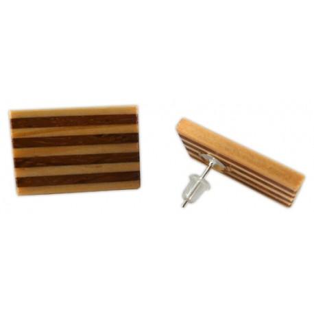 Arracades botó senyera de fusta