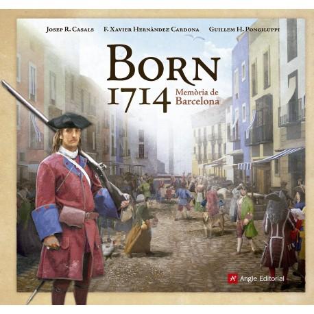 Llibre Born 1714. Memòria de Barcelona