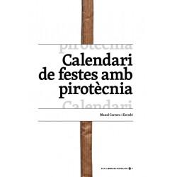 Llibre Calendari de festes amb pirotècnia