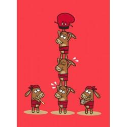 Body m/llarga Castellers burrets