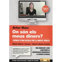 Llibre Artur Mas, on son els meus diners