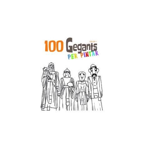 Llibre 100 gegants per pintar