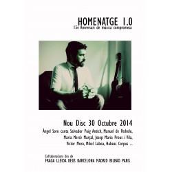 "CD ""Homenatge 1.0"", d'Àngel Soro"