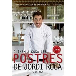 Llibre Cuinem a casa les postres de Jordi Roca