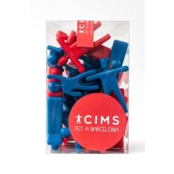 Caixa gran castellers plàstic Cims