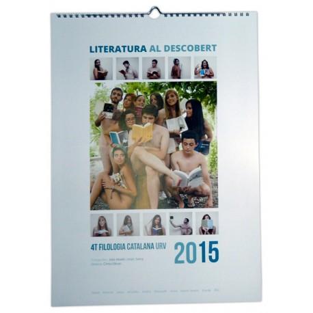 Calendari Literatura al descobert 2015