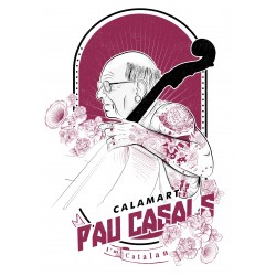 Samarreta noia Pau Casals hipster tatuat