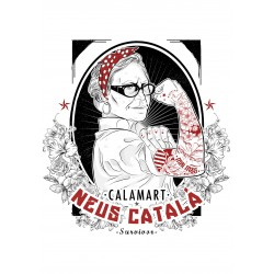 Samarreta Neus català hipster tatuada