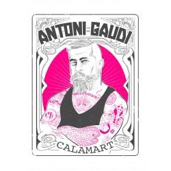 Samarreta Antoni Gaudí hipster tatuat