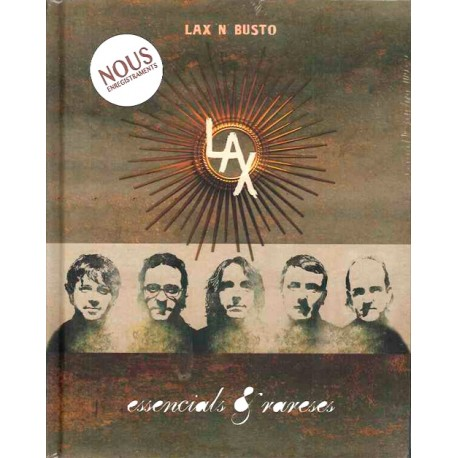 2 CD + Llibre Lax'n'busto - Essencials & rareses