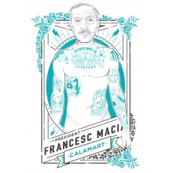 Samarreta noia Francesc Macià hipster tatuat