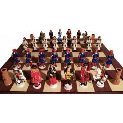 Joc d'escacs del 1714 SENSE PINTAR + pintures