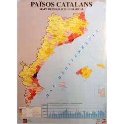 Mapa Països Catalans 100x70cm