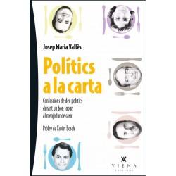 """Llibre """"Polítics a la carta"""""""