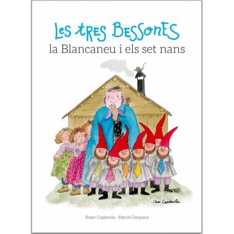 """Llibre-conte """"Les tres bessones, la blancaneu i els set nans"""""""