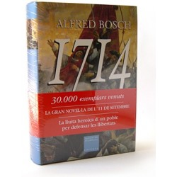 """Llibre """"1714. La gran novel·la de l'11 de Setembre"""""""