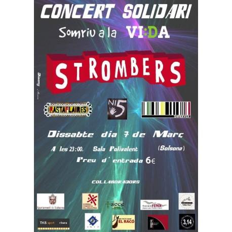 Entrada concert solidari Strombers a Solsona