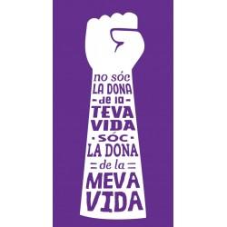 Samarreta feminista No sóc la dona de la teva vida