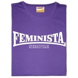 """Samarreta NOIA """"feminista sempre"""""""