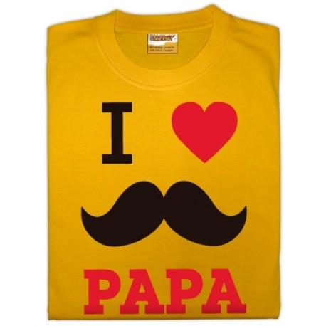 Samarreta I love Papa
