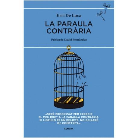 """Llibre """"La paraula contrària"""", d'Erri de Luca"""