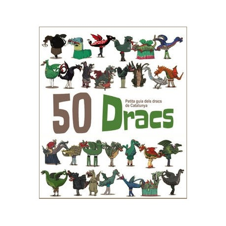 """Llibre-conte """"50 dracs! - Petita Guia dels Dracs de Catalunya"""""""