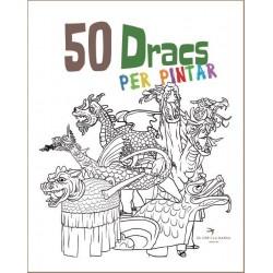 """Llibre-conte """"50 Dracs per pintar"""""""