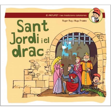 """Llibre-conte """"Sant Jordi i el drac"""""""