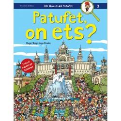 """Llibre """"Patufet, on ets? - Troba el Patufet per Catalunya"""""""