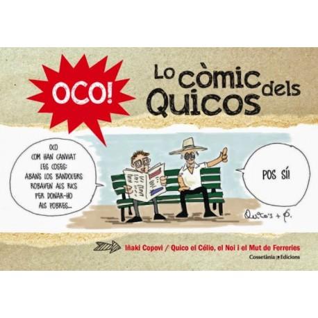 """Llibre-còmic """"Oco! Lo còmic dels Quicos """""""