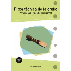 Llibre Fitxa tècnica de la gralla
