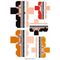 Castellers de paper retallable A3-5