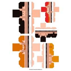 Castellers de paper retallable A3-7