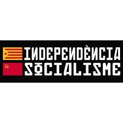 Samarreta unisex Independència-socialisme banderes