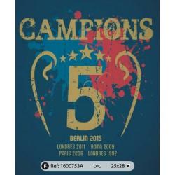 Samarreta unisex Campions