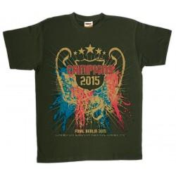 Samarreta unisex Campions 2015 Berlin
