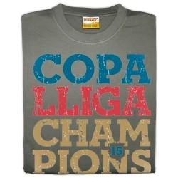 Samarreta unisex Copa Lliga Champions
