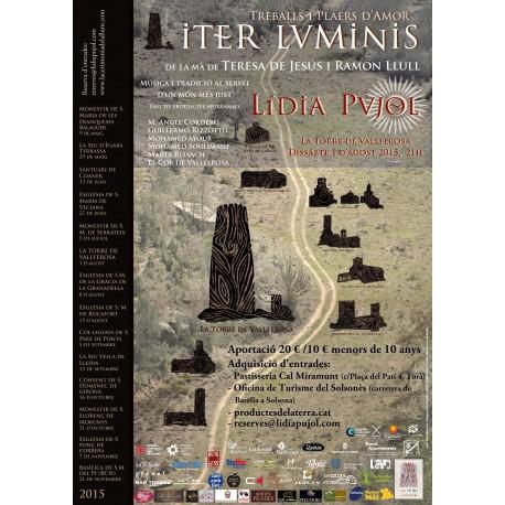 """Entrada INFANTIL concert Lídia Pujol """"Iter Luminis"""" a La Torre de Vallferosa"""
