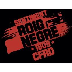 Samarreta CFRD - Sentiment roig i negre