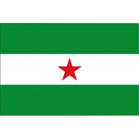 Bandera independentista Andalusa