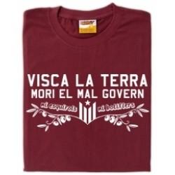 "Samarreta ""Mori el mal govern"""