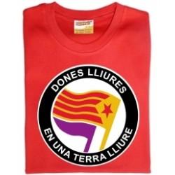 """Samarreta NOIA """"Dones lliures en una terra lliure"""""""