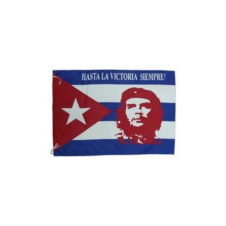 Bandera Che Guevara Hasta la victoria siempre